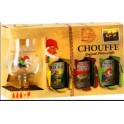 La Chouffe BOX 3x0.33+1 glass